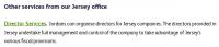 Director Service der Jordans Trust Company Ltd.