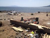 Eviction of the No Border Camp on Lesvos 5