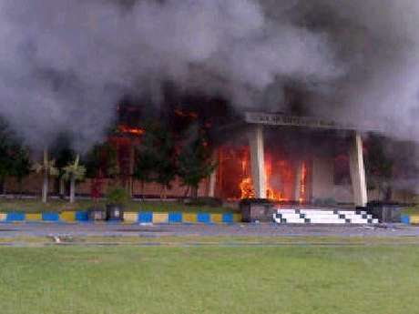 Incendiary attack against a school for police in Balikpapan, East Kalimantan (Indonesia)