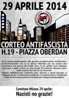 Antifademo am 29.04.2014 in Milano