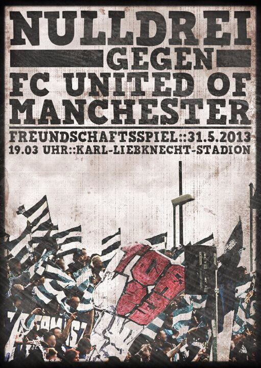 Nulldrei vs FC United of Manchester