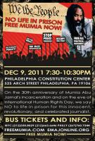 WE THE PEOPLE No To Life in PrisonFREE MUMIA NOW!
