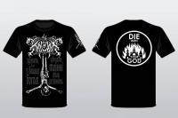 "Hel Carpathian Black Metal - Kroda - ""die with your god""-Shirt"