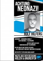 Rolf Hilfers outing Flyer