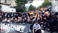 Licht, Kamera und Action! (HoGeSa-Demonstration am 20.09.2015 in Essen)