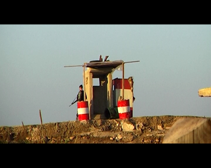 "Film still from ""Nahr al-Bared: Checkpoints and more"" by a-films"