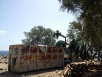Eviction of the No Border Camp on Lesvos 3