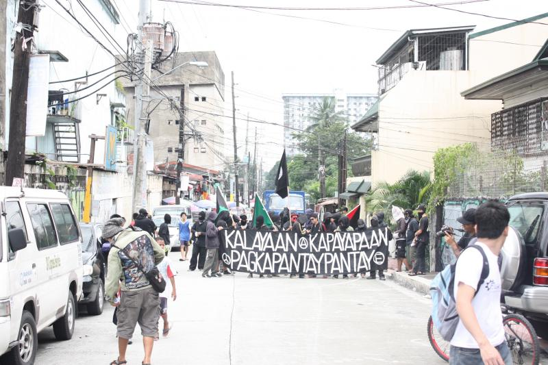 Anarchist Protest in the Philippines - 2