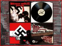 """Black Shirts Records"" - ""Weisse Wölfe"""