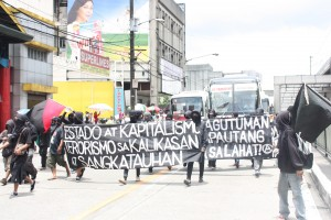 Demo against the SONA 2012 (Philippines) - 2