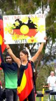 Aboriginal protesters in Canberra - 21