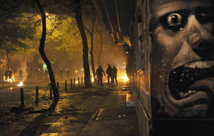 Riots in Athen