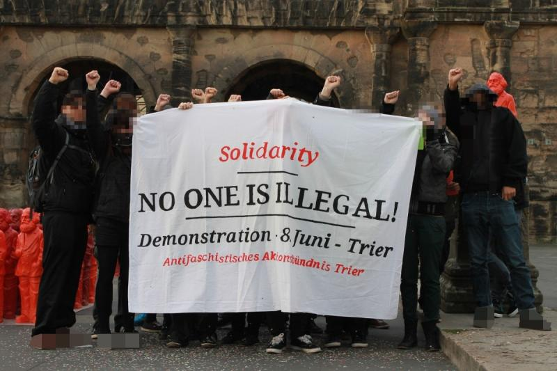 Solidarity: No one is illegal