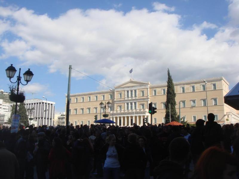Am-Syntagma-Platz