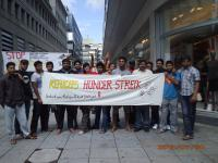 Refugees Hunger Strike