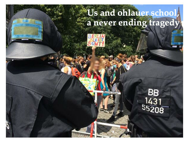 Us an Ohlauer school - a never ending story