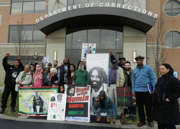 "2016: Rally infront of ""Department Of Corrections"" in Harrisburg, PA"