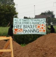 All it takes to humiliate an evil empire is an honest act – Free Bradley Manning and all political prisoners!