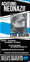 Erik Bruhn outing Flyer