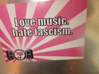 Love music.hate fascism.