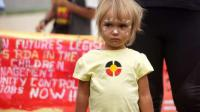 Aboriginal protesters in Canberra - 11