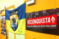 """Reconquista Europe"" auf der 2. national-revoutionären Konferenz in Paris (14.11.2015)"